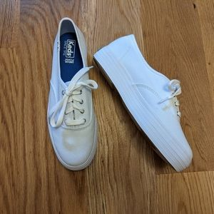 Keds Triple Core White Canvas Sneaker